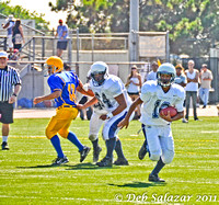 SEPT 1, 2011 SPHS FROSH FB VS LMHS